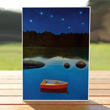 Boat and Stars