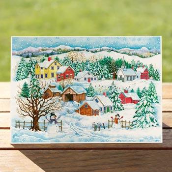 97574-snowman-landscape-card