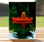 Bear in a Boat