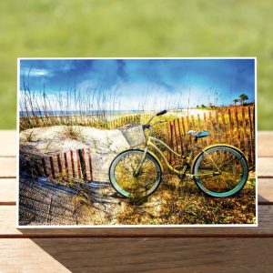 97622-BeachBikeatthedunes-GreetingCArd